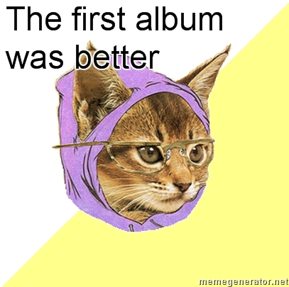 the first album was better